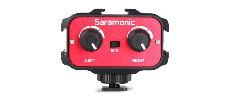 Saramonic, la solución para trabajar con más de una fuente de sonido al mismo tiempo