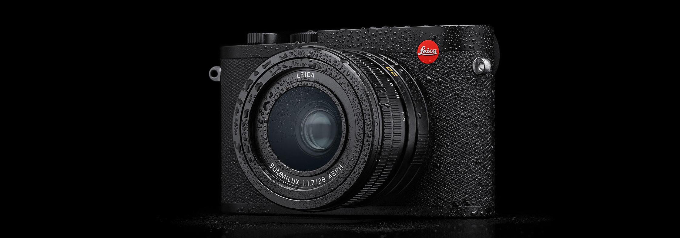 Leica presenta la NUEVA Q2: La nueva generación de la cámara compacta con sensor de formato completo y objetivo luminoso de distancia focal fija.